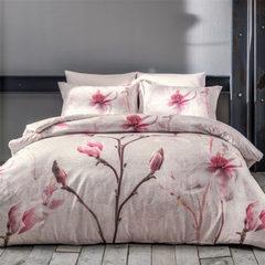 Постельное белье  ORCHIDEA бежевая  deluxe TIVOLYO HOME Турция