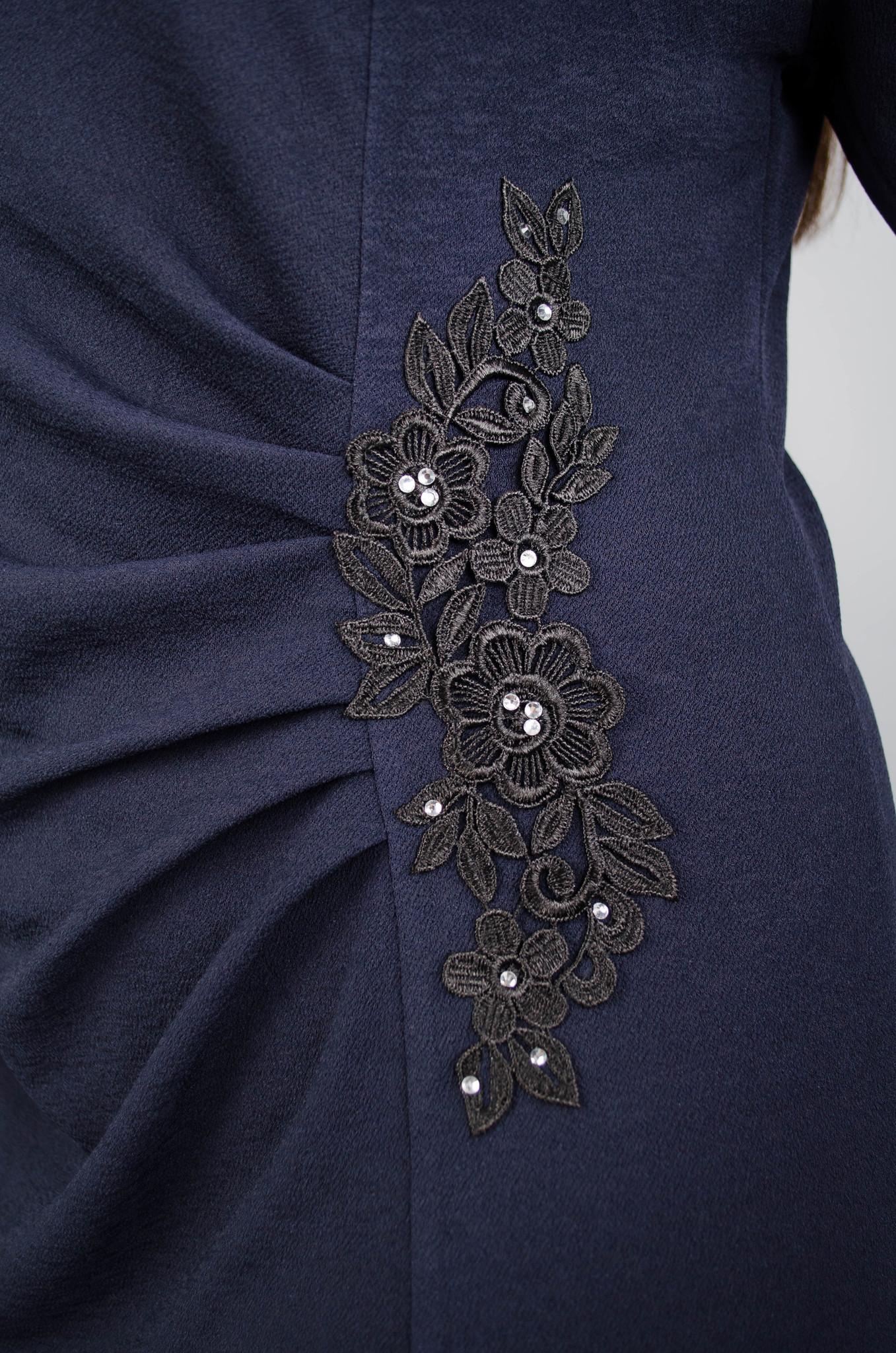 Тейлор. Гарна жіноча сукня плюс сайз. Синій. - купить по выгодной ... d4a43943b91f5
