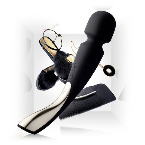 Lelo Smart Wand Large Чёрный