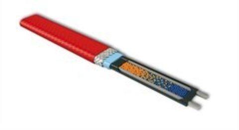 Саморегулируемый греющий кабель для водопровода монтаж внутри трубы EASTEC MICRO 10 - CTW, SRL 10-2CR M=10W. В пищевой изоляции греющий кабель Обогрев труб кровли водостоков EASTEC (ИСТЭК). EASTEC MICRO 10 - CTW