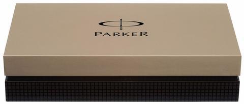 *Ручка-роллер Parker Premier DeLuxe T562, цвет: Chiselling ST123