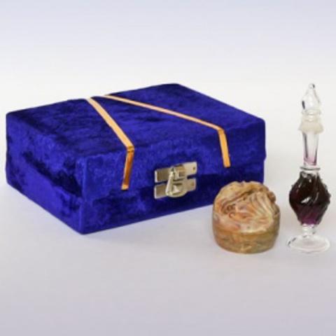 Подарочный набор  R-Expo масло Лотос и сухие духи Афродезия