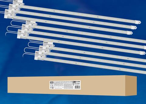 ULY-P91-20W/SPFR/K IP65 AC220V CLEAR KIT09 Светильник для растений светодиодный линейный, 1200мм. Спектр для фотосинтеза. В составе набора из 9-ти штук. TM Uniel.