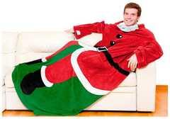 Плед с рукавами Sleepy Christmas Santa  (Санта Клаус)