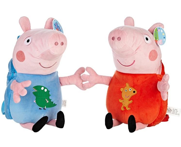 Свинка Пеппа рюкзак игрушка