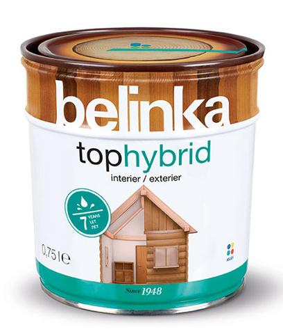Belinka Tophybrid лазурное покрытие
