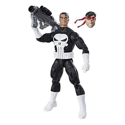 Фигурка Каратель (Punisher) Ретро - Marvel Legends, Hasbro