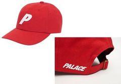Кепка PALACE (Бейсболка Палас) красная