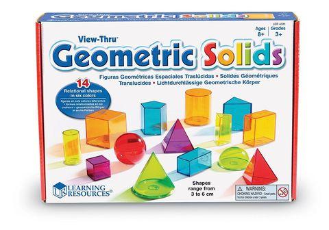 Набор объемных геометрических фигур 14 шт. Learning Resources