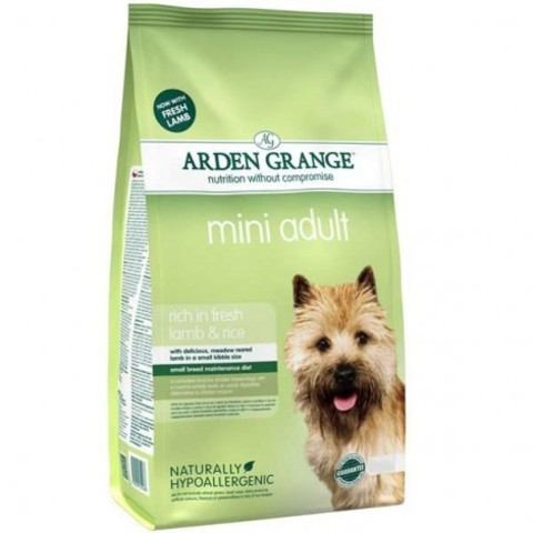 ARDEN GRANGE ADULT DOG MINI LAMB & RICE 6 кг