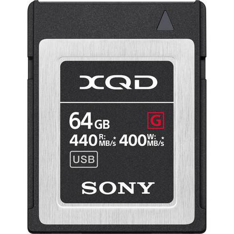 Карта памяти Sony QD-G64E XQD 64Gb (440/400 MB/s)