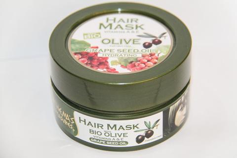 Увлажняющая маска для волос с маслом виноградных косточек ATHENA'S TREASURES