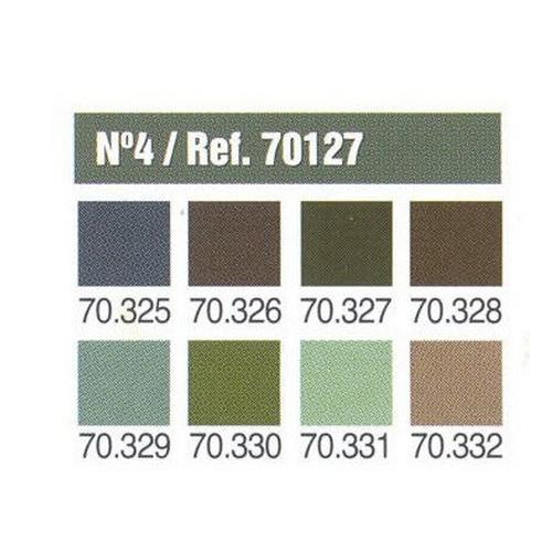 Набор №4 Model Color Panzer Aces
