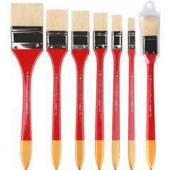 Кисть щетина флейц Transon с длинной ручкой