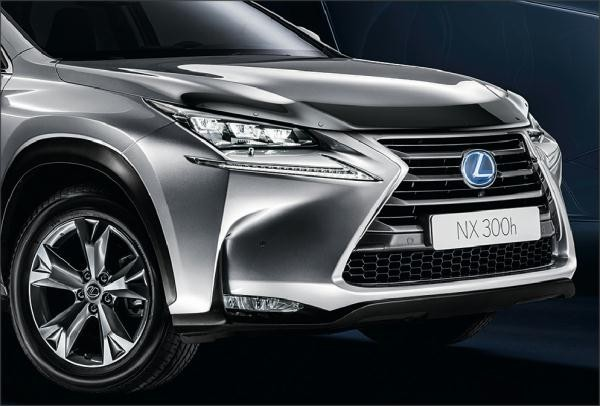 Дефлектор капота LEXUS PU5007815E для Lexus NX 2015 г.в по н.в. 2017 new car interior led decoration for cadillac srx cts lexus is250 rx300 rx350 nx mercedes w211 w204 w203 w210 w1 accessories