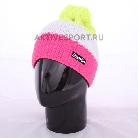 шапка Eisbar star neon pompon