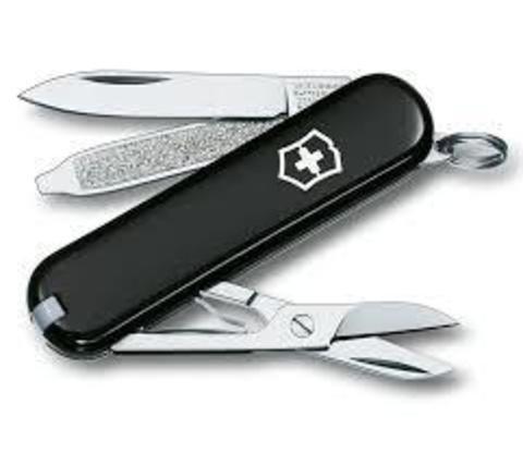 Нож Victorinox Classic черный (0.6223.3)