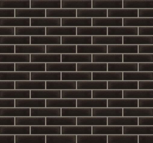 King Klinker - Onyx black (17), Free Art, 65x250x10, RF - Клинкерная плитка для фасада и внутренней отделки