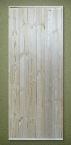 Дверь деревянная банная клиновая 1700х700 с коробкой 100 мм