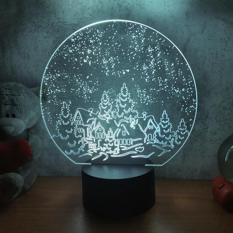 Лампа Зимняя ночь
