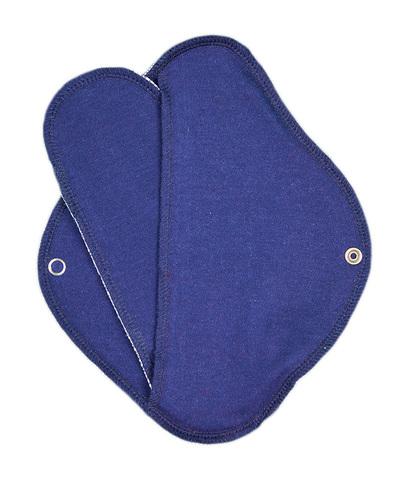 Многоразовая прокладка с вкладышем (синяя)