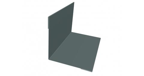 Планка угла внутреннего простого полиэстер 75х75х3000 мм