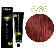 L'Oreal Professionnel INOA Carmilane 6.66 (Темный блондин фиолетовый интенсивный) - Краска для волос