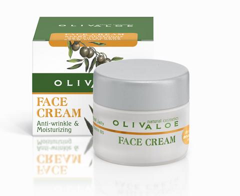Крем от морщин для сухой и обезвоженной кожи лица OlivAloe 40 мл