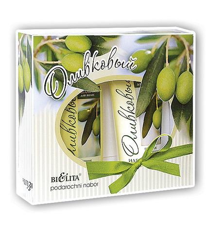 Подарочный набор Оливковый № 2