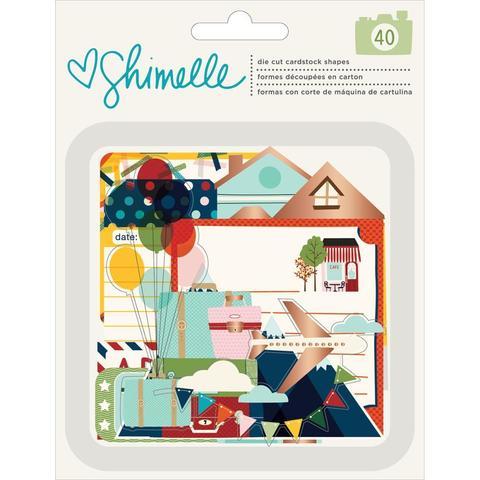 Набор высечек  Go Now Go by Shimelle