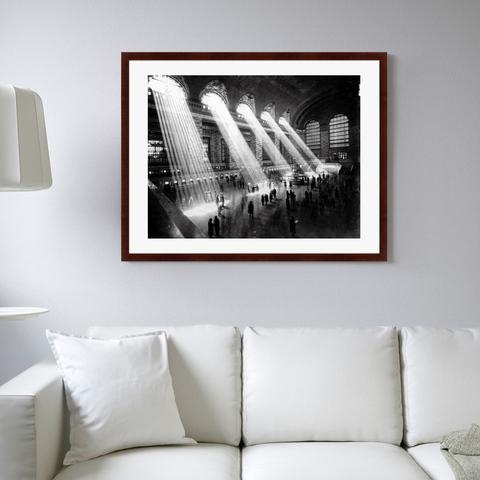 - Главный зал Центрального вокзала Нью-Йорка, 1929г