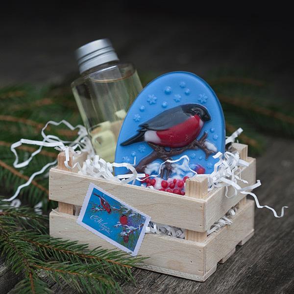 Наклейки для мыла ручной работы Марки: Новый год