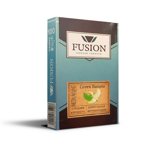 Табак Fusion Medium Green Banana 100 г