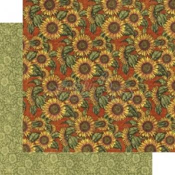 Бумага для скрапбукинга Sunflower