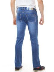 A8024 джинсы мужские, синие