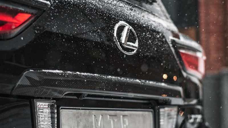 Карбоновые аксессуары MTR для Lexus LX