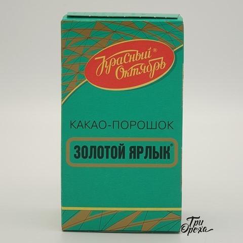Какао порошок Золотой Ярлык, 100 гр