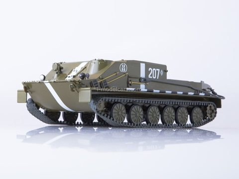 Armored personnel carrier BTR-50 Our Tanks #12 MODIMIO Collections