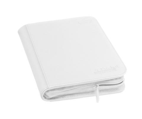 Ultimate Guard - Белый гибкий альбом XenoSkin на молнии на 160 карт (2х2)