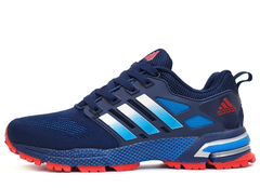 Кроссовки Мужские Adidas Marathon TR 13 Dark Blue Red