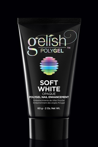 Polygel Soft White - Натуральный белый (плотный) - 60 г.