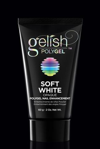 Polygel Soft White - Натуральный белый (плотный) - 60 г.
