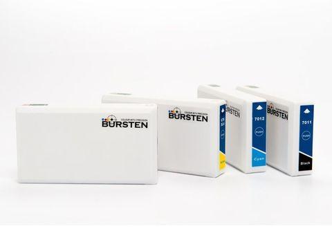 Нано-картриджи BURSTEN 2-го поколения SC10 для принтеров Epson WorkForce Pro WP-4025DW/ Pro WP-4525D (Т7011 - T7014) x 4