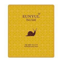 Eunyul Snail Mask Pack - Тканевая маска для лица с муцином улитки