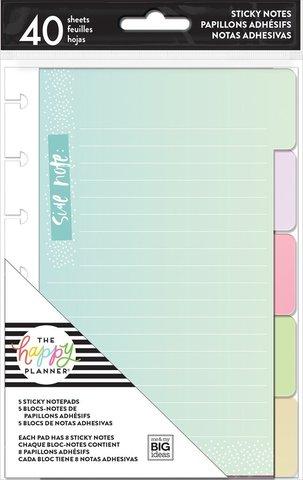 Внутренний блок с разделительными табами- Pastels - Sticky Note Tabs-40л