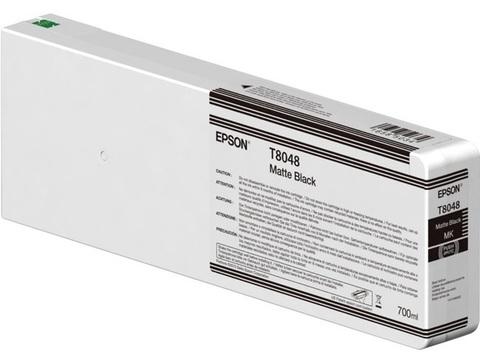 Картридж T804800 для Epson SC-P6000/7000/8000/9000 XXL Matte Black UltraChrome HDX/HD, 700ml (C13T804800)