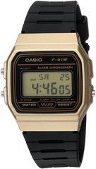 Часы Casio Mens F91WM-7A Black Digital Databank Watch