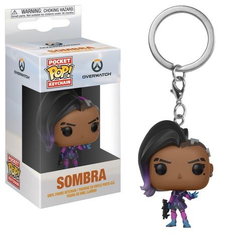 Брелок Funko POP! Keychain: Overwatch: Sombra 32794
