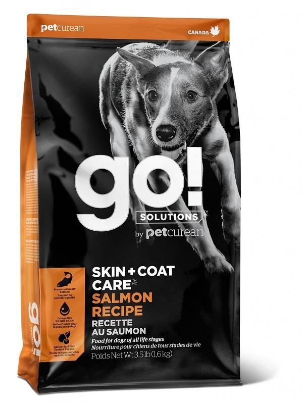 Сухой корм Корм для щенков и собак, GO! Natural holistic, Sensitivity + Shine Salmon Dog Recipe, со свежим лососем и овсянкой 34822.jpg