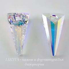 6480 Подвеска Сваровски Spike Crystal AB (18 мм)